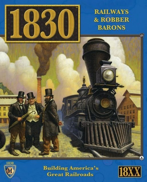 1830: Railways & Robber Barons - Rent A Meeple