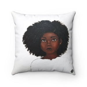 Because Being Black in a White Space is a Real Thing... I Premium Square Pillow - Fearlessly Hue by Dana Todd Pope