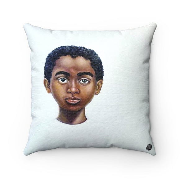 Because Being Black in a White Space is a Real Thing... V Premium Square Pillow - Fearlessly Hue by Dana Todd Pope