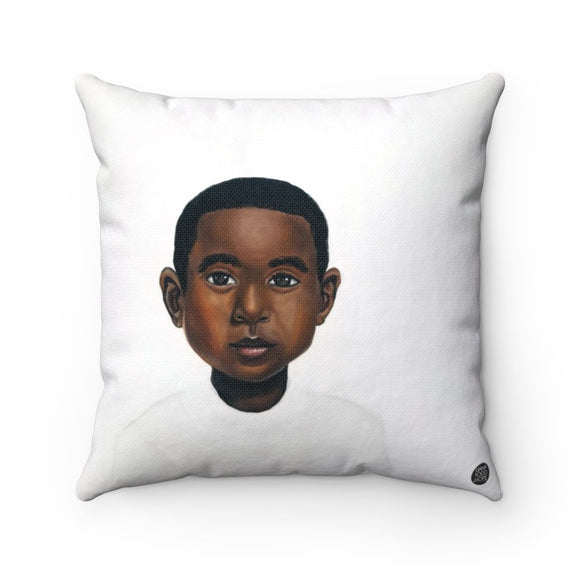 Because Being Black in a White Space is a Real Thing... II Premium Square Pillow - Fearlessly Hue by Dana Todd Pope