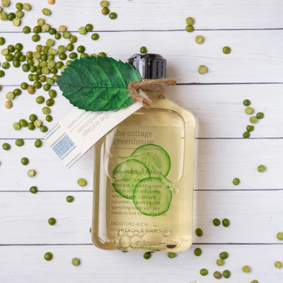 Cucumber & Honey Body Wash - Cabbage Rose