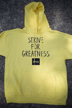 Load image into Gallery viewer, BCLSFW191: #StriveForGreatness Hoodie - Canary Yellow