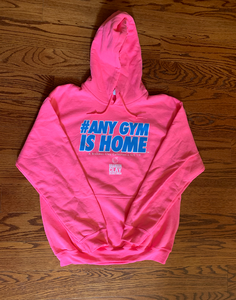BCLSFW194: #AnyGymIsHome Hoodie - Cotton Candy Pink