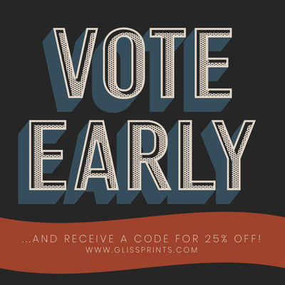 Vote Early and Receive a Discount