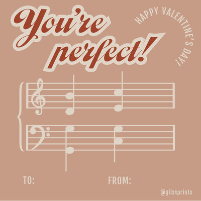 Valentine's Day Cards for Musicians