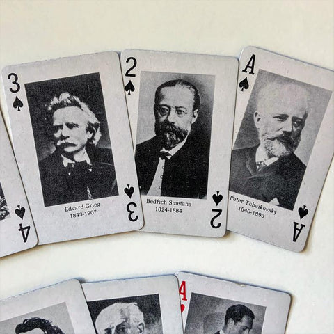 Composer Playing Card Deck