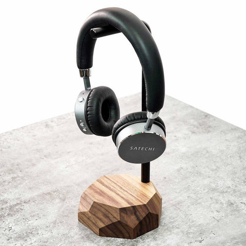 Personalized Wooden Headphone Stand
