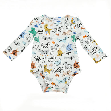Cool Pups Onesie with Lap Shoulder Opening