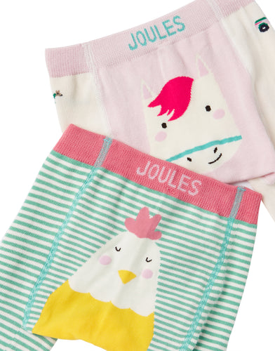 Chick and Horse Baby  Knit Leggings (2 Pack)