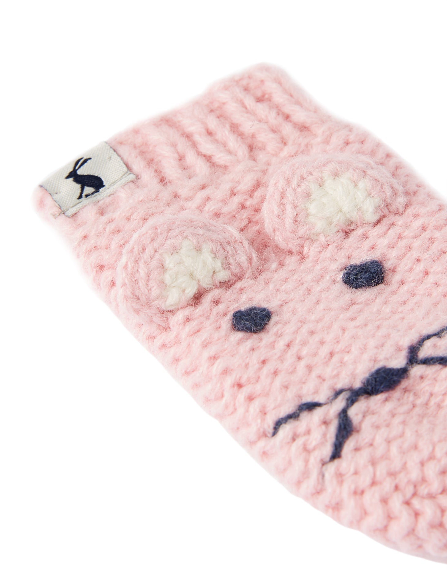 Pink Mouse Chummy Mittens
