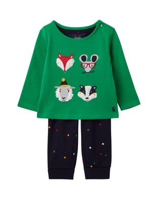 Byron Applique- Top and Pants (0-24 Months)