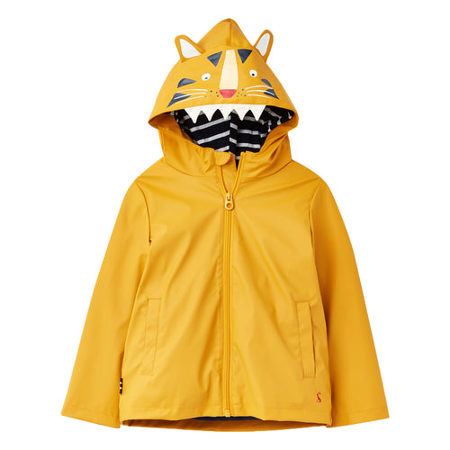 Rain Coat- Yellow Tiger