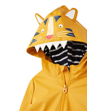 Load image into Gallery viewer, Rain Coat- Yellow Tiger
