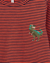 Load image into Gallery viewer, Dino Island Long Sleeve Embroidered T-Shirt