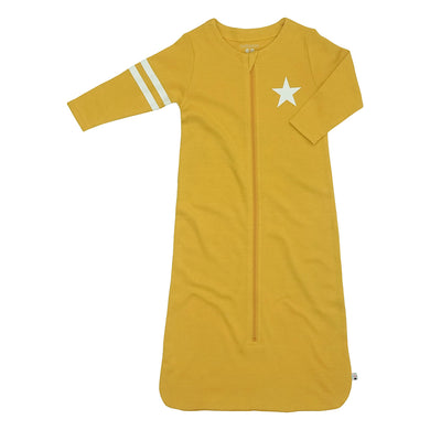 All-Star Sleepsack with Long Sleeves- Mustard