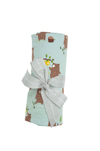 Baby Bears Swaddle Blanket