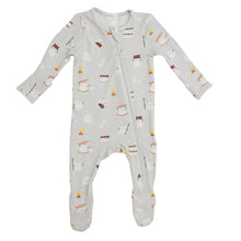 Load image into Gallery viewer, Smores- Zippered Footie (0-24 Months)