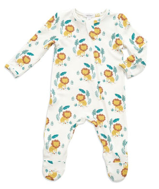 Lion King Zippered Footie (0-9 MONTHS)
