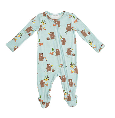 Baby Bear- Zippered Footie (0-24 Months)