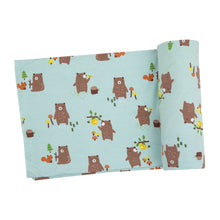 Load image into Gallery viewer, Baby Bears Swaddle Blanket