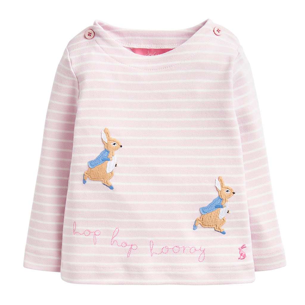 Peter Rabbit™ Applique Pink Top