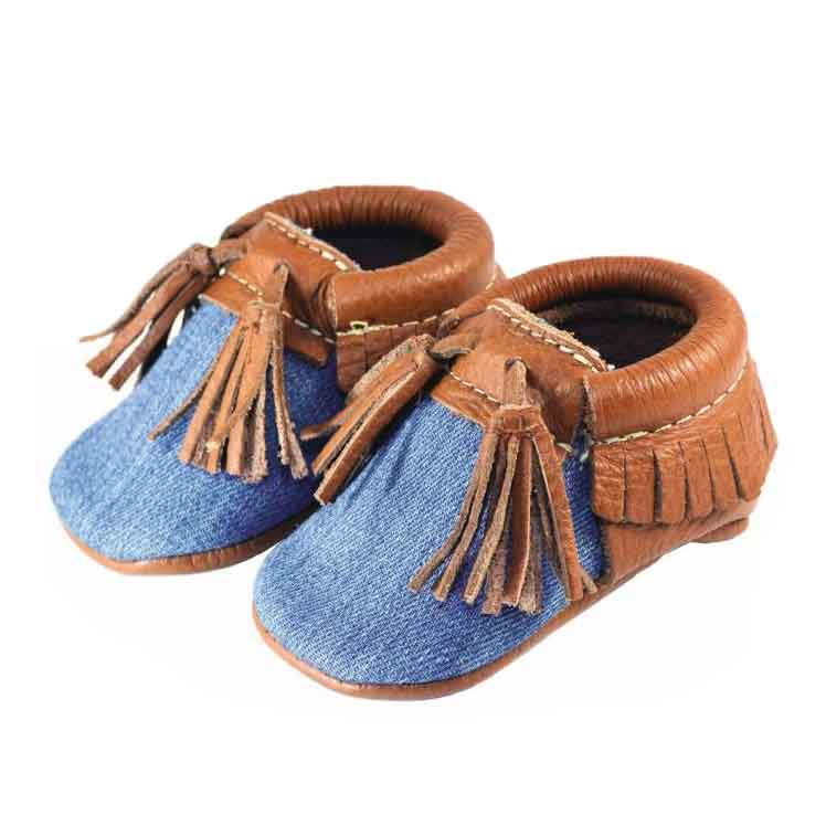Blue Denim Moccasin