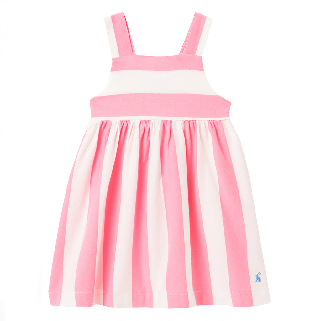Jersey Sun Pink Stripe Dress