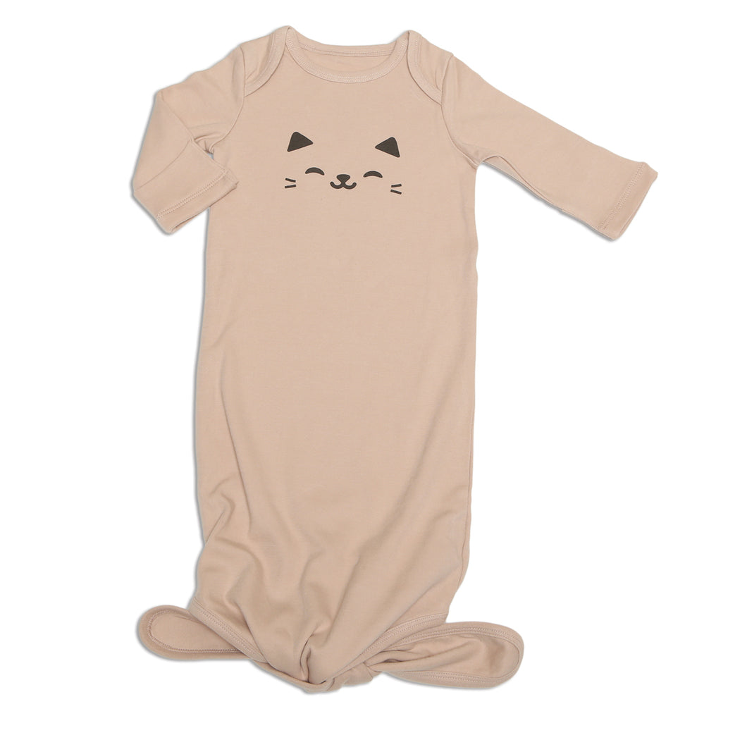 Organic Cotton Knotted Sleeper (Rose Dust)