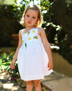 Empire Daisy Flower Dress