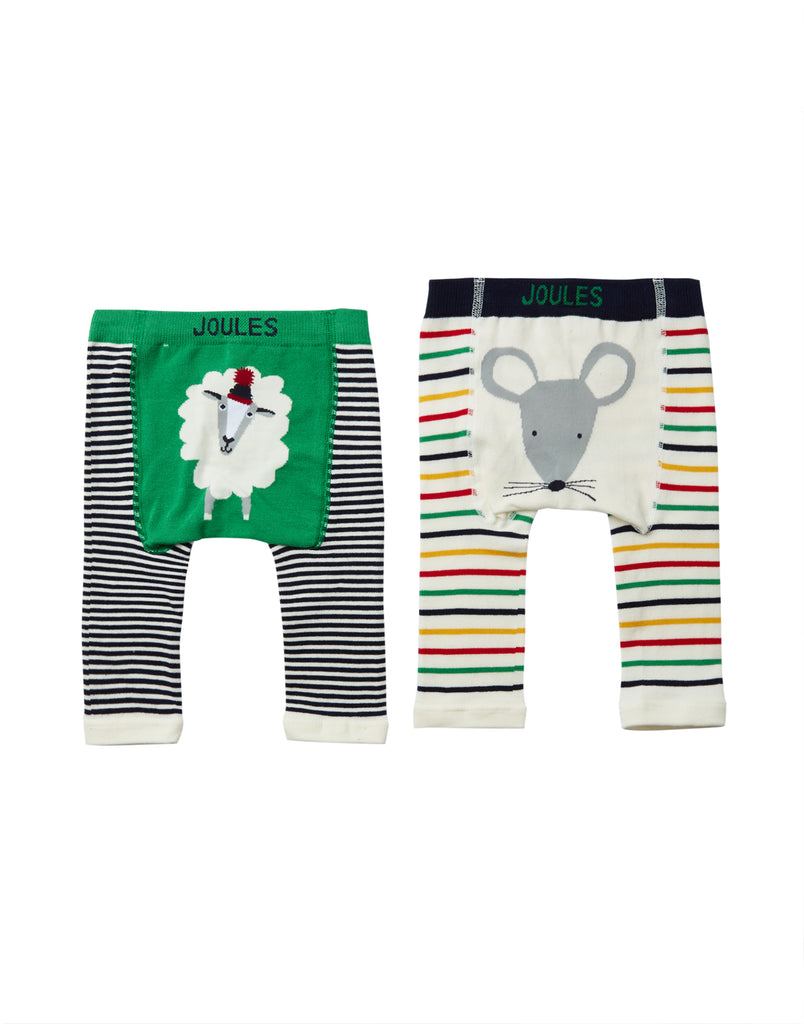 Sheep & Mouse Knit Leggings 2 Pack
