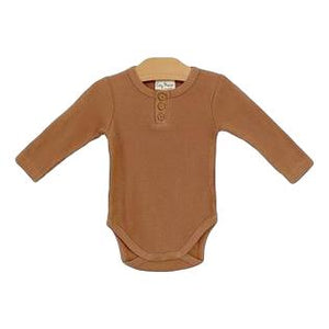 Hazelnut Onesie- Organic Cotton