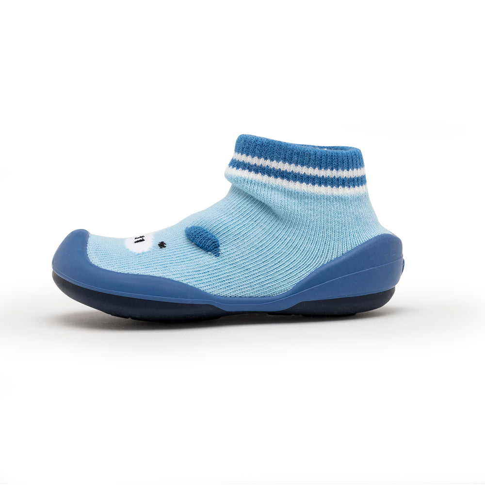 Piglet Blue Sock Shoes