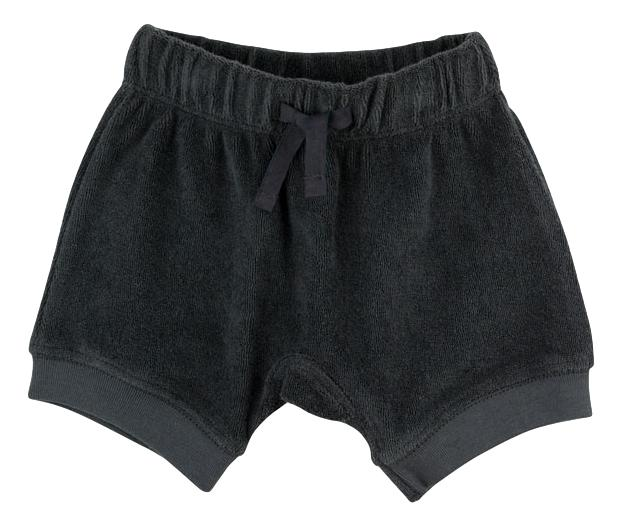 Organic Cotton Charcoal Terry Shorts (Organic Cotton)