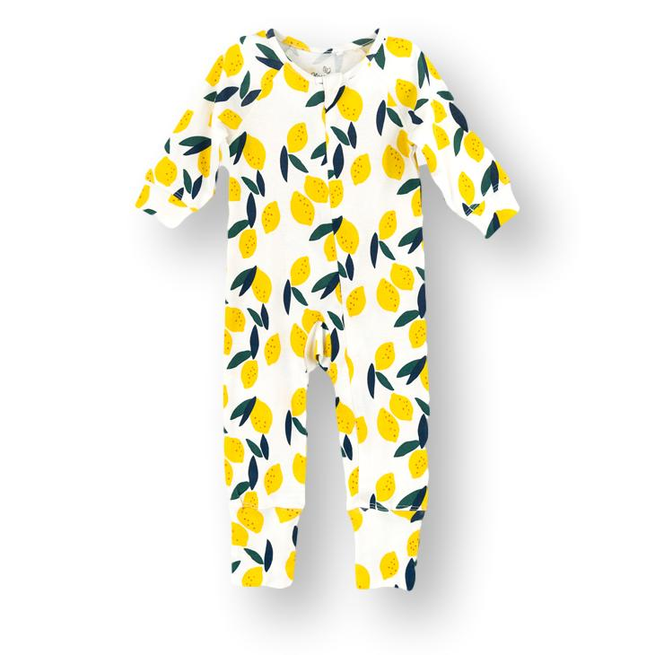 Lemon Print Onesie (Organic Cotton)