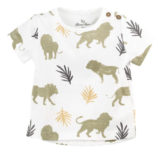 Lion Print Tee (Organic Cotton)