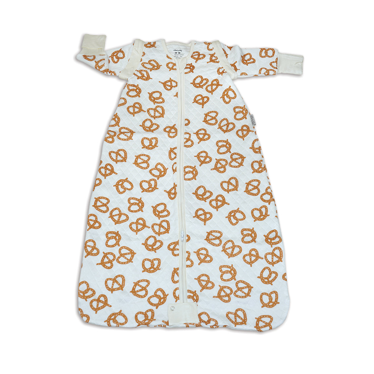 Pretzels Bamboo Classic Sleeping Sack w/Detachable Sleeves (1.0 TOG)