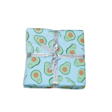 Bamboo Extra Large Quilted Blanket- Avocado