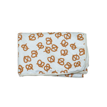 Load image into Gallery viewer, Bamboo Extra Large Quilted Blanket- Pretzels