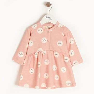 Organic Cotton Supernova Dress- Pink
