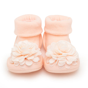 "Komuello Toddler Sock Shoes ""Corsage Pink"""