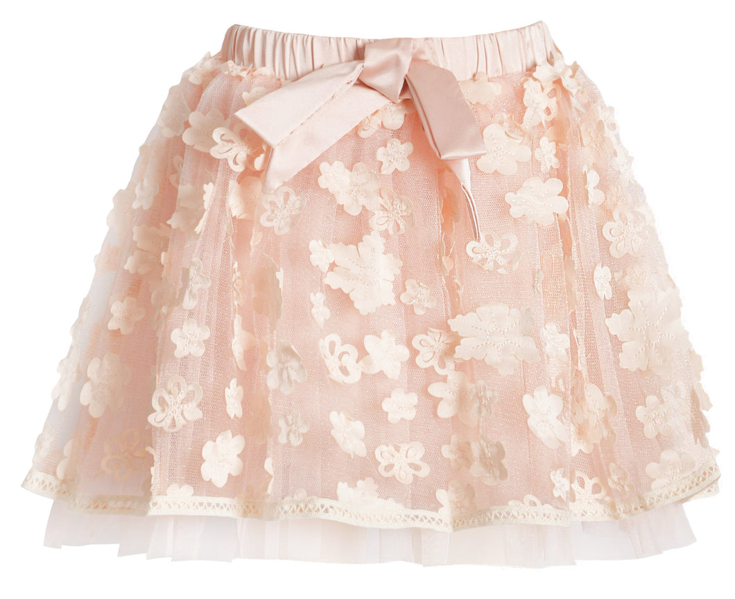 Toddler Girl Floral Tutu Skirt
