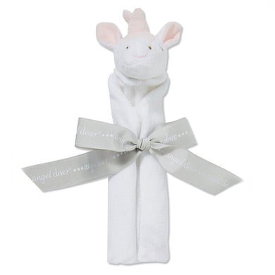 White Unicorn Baby Blankie