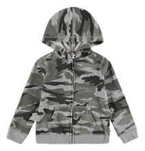 Load image into Gallery viewer, Camo Hoodie Jacket