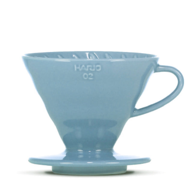 "HARIO V60 Porzellan Dripper 02 ""Colour Edition"" - blau"
