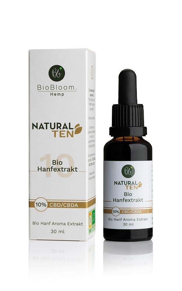 Hanf Öl Natural TEN - 123-hanf.de