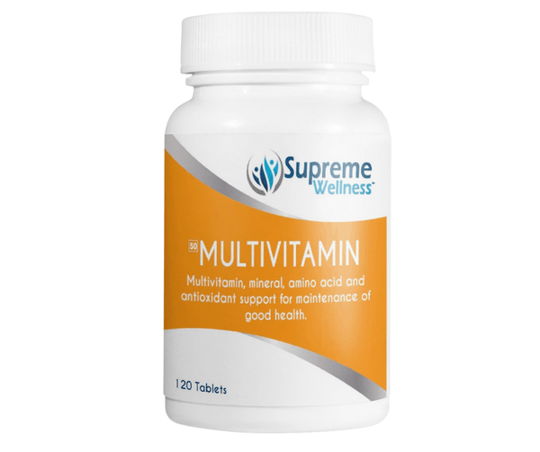 Supreme Wellness Multivitamin (120 Tablets)
