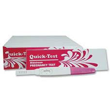 Quick Pregnancy Test Single Box 10 Units