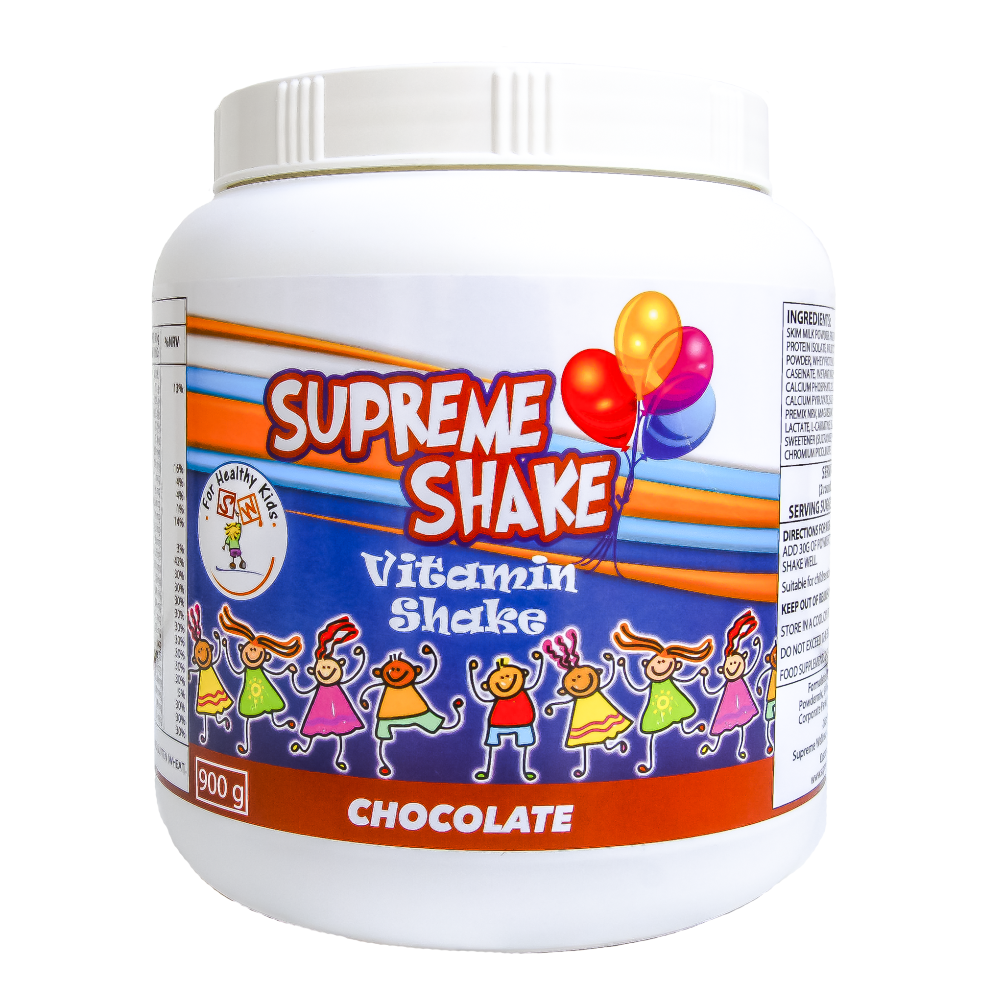 Supreme Wellness Kids Chocolate Vitamin Shake