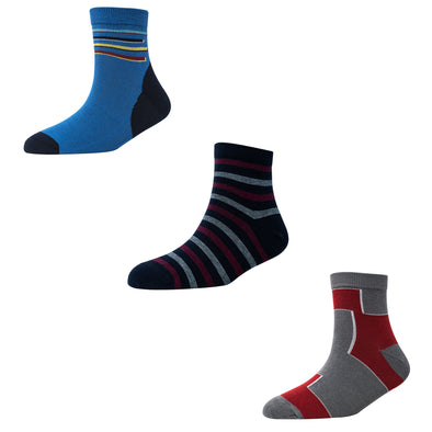 Men's AL024 Pack of 3 Ankle Socks