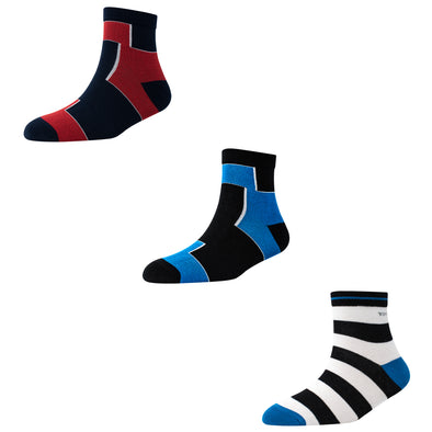 Men's AL019 Pack of 3 Ankle Socks